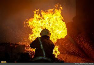 مرد-چمخاله-ای-در-آتش-سوخت