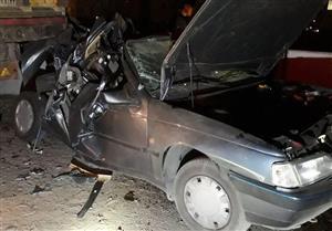 زنده ماندن معجزهآسای سرنشینان پژو 405 پس از تصادف شدید + تصاویر