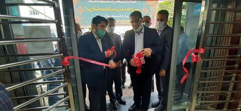 افتتاح شعبه جدید بانک ملی به منظور رفاه حال مشتریان