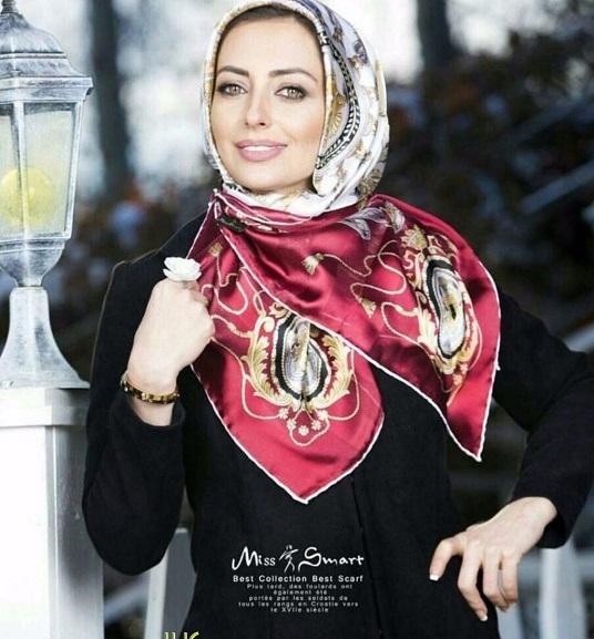 عکس روسری تک رنگ خانم بازیگر مدل روسری می شود+عکس :: پایگاه خبری و تحلیلی ...